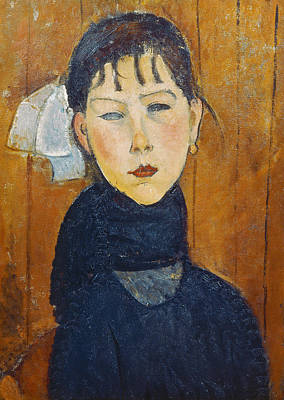 Fringe Painting - La Petite Marie by Amedeo Modigliani