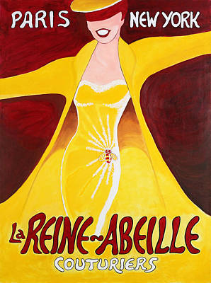 La Reine Abielle Original by Thom Reaves