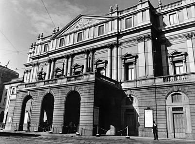 Ev-in Photograph - La Scala, Opera House, In Milan, Italy by Everett