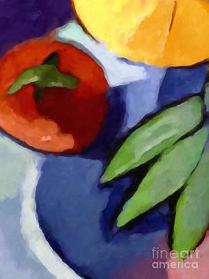 Tomato Painting - La Tomat by Lutz Baar