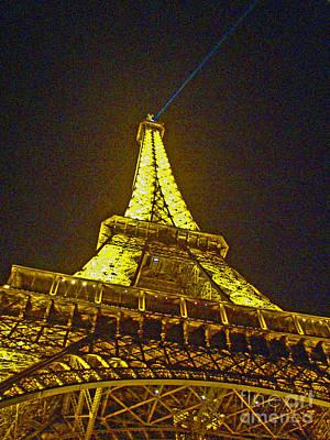 La Tour Eiffel II Print by Al Bourassa