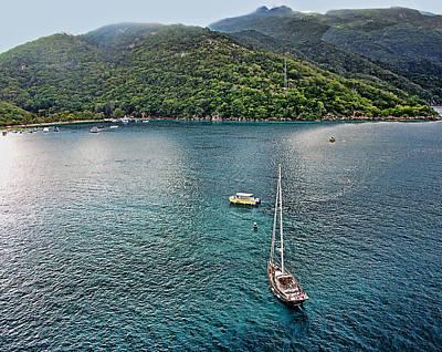 Labadee Bay Haiti Original by Allan Einhorn