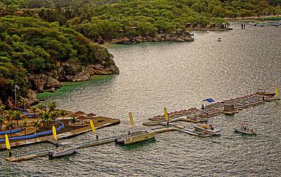Labadee Haiti Pier Original by Allan Einhorn