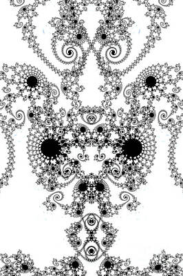 Digital Art - Lace by Steve Purnell