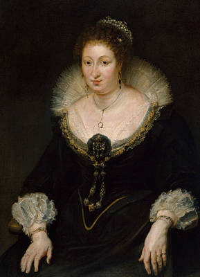 Counter Painting - Lady Alethea Talbot, Countess Of Arundel by Peter Paul Rubens