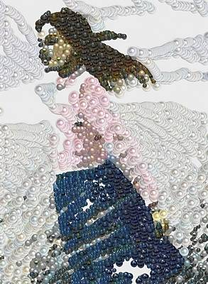 Digital Art - Lady Bubblelicious by Mario Carini