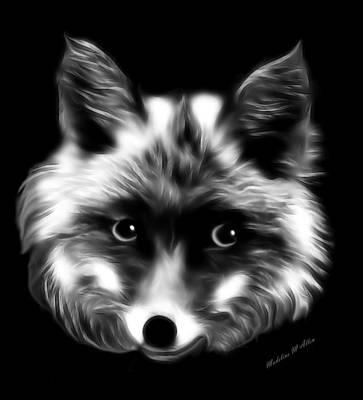Fox Digital Art - Lady Fox by Madeline  Allen - SmudgeArt