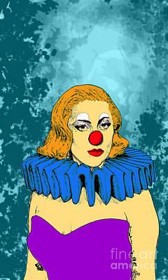 Lady Gaga 1 Print by Jason Tricktop Matthews