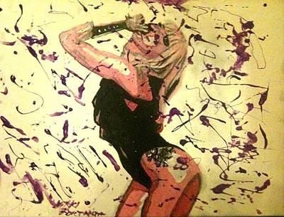 Lady Gaga Painting - Lady Gaga by Nikki Portanova