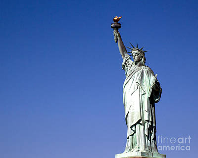 Lady Liberty Looks Beyond Print by Juan Romagosa