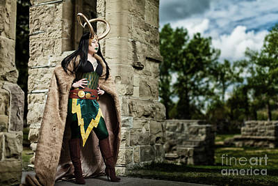 Lady Loki Print by Ian MacDonald