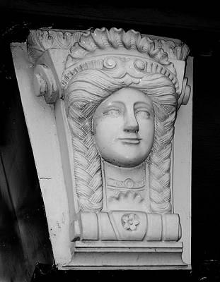 Lady Of The House Athlone Ireland Print by Teresa Mucha