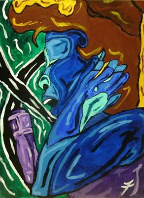 Lady Sing The Blues Original by Jason JaFleu Fleurant