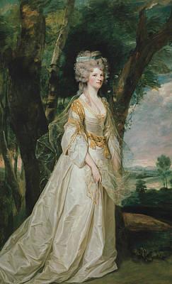 18th Century Painting - Lady Sunderlin by Joshua Reynolds