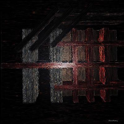 Tessellation Digital Art - Laeviculus Tessellations by Ramon Martinez