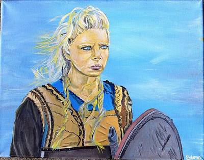 Lagertha Painting - Lagertha by Grayson Engleman