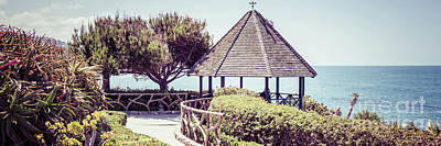 Shack Photograph - Laguna Beach Gazebo Panorama Picture by Paul Velgos