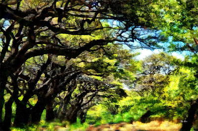 Watercolor Painting - Lahaina Drive Maui by Russ Harris