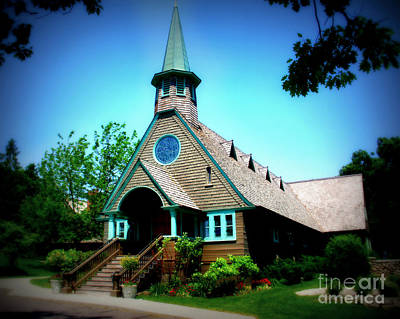 Minnesota Twins Photograph - Lake Church by Perry Webster