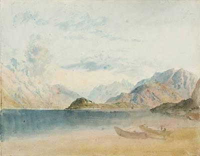 Lake Como Painting - Lake Como by Joseph Mallord