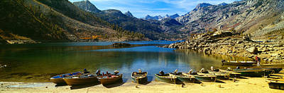 Crowley Lake Photograph - Lake Crowley, In A Valley High by Panoramic Images
