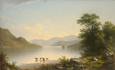 Painting - Lake George 2 by John William Casilear