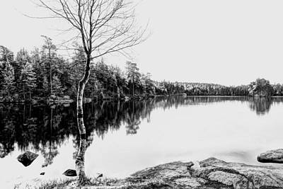 Water Filter Digital Art - Lake In Infrared by Toppart Sweden