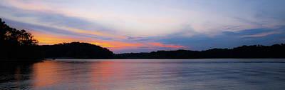 Lake Keowee Photograph - Lake Keowee Sunrise by Todd Wise