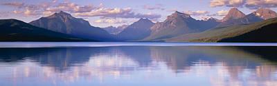 Lake Mcdonald Glacier National Park Mt Print by Panoramic Images