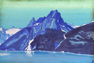 Landscape Painting - Lake Of The Nagas, Kashmir by Nicholas Roerich