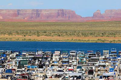 Lake Powell Arizona Print by Carl Amoth