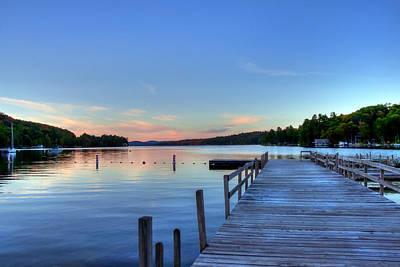 New Hampshire Photograph - Lake Sunapee - Newbury Harbor by Joann Vitali