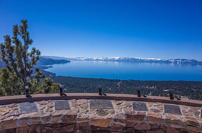 Photograph - Lake Tahoe Overlook by Scott McGuire