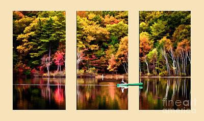 Lake Transition Print by Garland Johnson