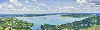 Texas Photograph - Lake Travis From Above by Tod and Cynthia Grubbs