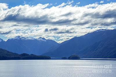 Clouds Photograph - Lake Wakatipu In South Island, New Zealand by Julia Hiebaum