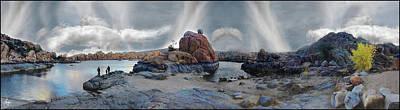 Lake Watson Mindscape Original by Wayne King