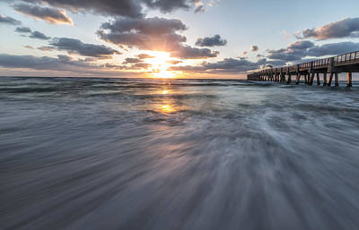 Outdoors Photograph - Lake Worth Morning by Jon Glaser