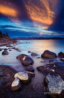 Wyoming Photograph - Lake Yellowstone by Inge Johnsson