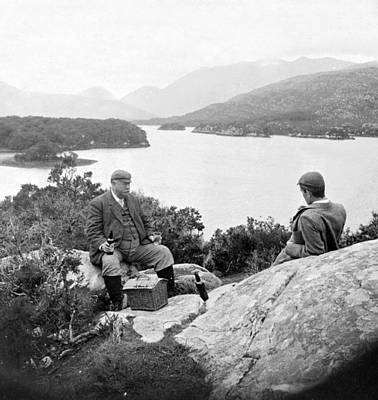 Lakes Of Killarney - Ireland - C 1896 Print by International  Images