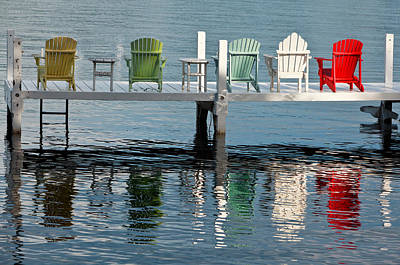 Tourist Photograph - Lakeside Living by Steve Gadomski