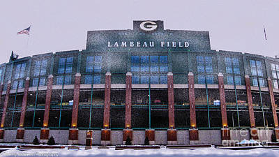 Lambeau  Print by Tommy Anderson