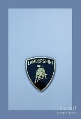 Lamborghini  Print by Theresa Tahara