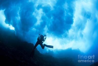 Lanai Diver Print by Dave Fleetham - Printscapes