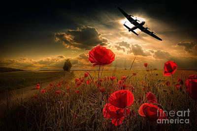 Lancaster Tribute Print by Stephen Smith