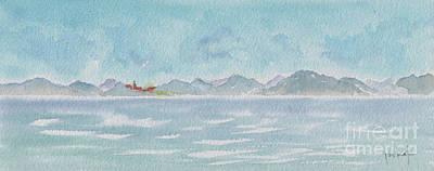 Land Ahoy Cruising By Cuba Original by Pat Katz