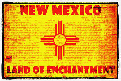 Land Of Enchantment Print by Diana Powell