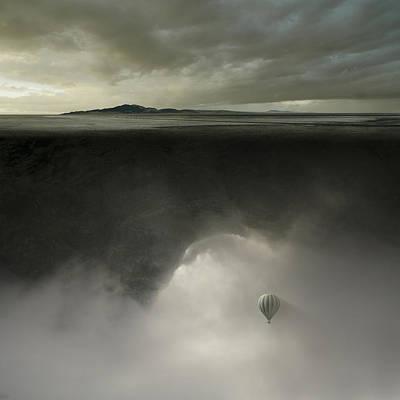 Cave Digital Art - Landmass by Michal Karcz