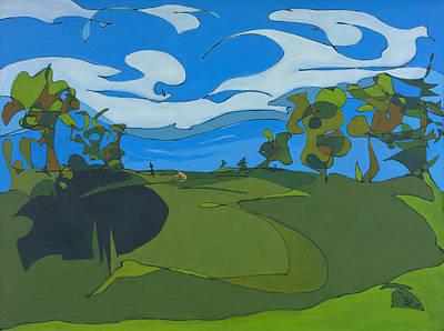 Landscape 9 Print by John Gibbs