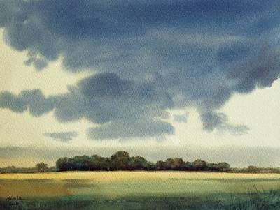 Landscape In Groningen Original by Mineke Reinders